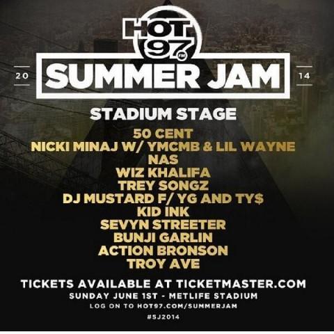 hot 97 summer jam concert
